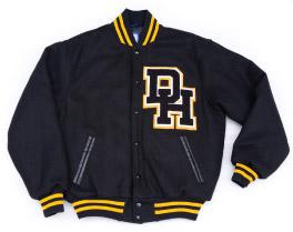 daniel hand high school varsity letter jacket